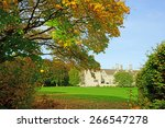 An Autumn View Of A Cotswold...