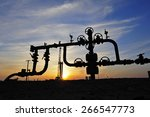 valves and piping  | Shutterstock . vector #266547773