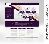 website template design for...