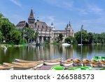 budapest  hungary   june 19 ... | Shutterstock . vector #266588573