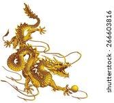 Golden Dragon Running Down...