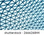 modern glass building dome | Shutterstock . vector #266626844