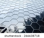 Hexagonal Building Facade