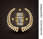 best product of the year 2015... | Shutterstock .eps vector #266639843