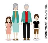 family design over white...   Shutterstock .eps vector #266641406