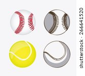 sport design over white... | Shutterstock .eps vector #266641520