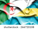 waving flag of bahamas and ... | Shutterstock . vector #266720108