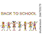 Back To School Background With...