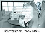 login and password | Shutterstock . vector #266743580