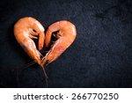 Boiled Tiger Shrimps Heart...