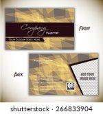corporate professional designer ... | Shutterstock .eps vector #266833904