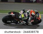 Постер, плакат: Spanish Aprilia rider Alvaro