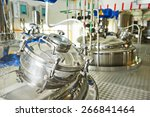 factory with pharmaceutical... | Shutterstock . vector #266841464