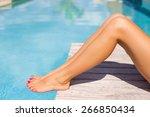 Beautiful Tanned Women Legs By...