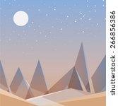 abstract desert landscape...