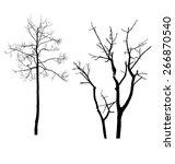 dead tree | Shutterstock .eps vector #266870540