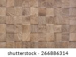 Wooden Background With Embosse...