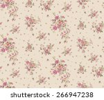 Stock vector trendy seamless floral pattern in vector 266947238