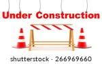 under construction | Shutterstock . vector #266969660