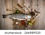 Fresh Trout With Spices And...