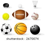 sport items | Shutterstock .eps vector #2670074
