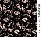 fingerprint pattern from the of ... | Shutterstock . vector #267010604