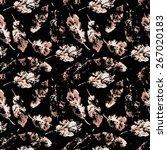 fingerprint pattern from the of ... | Shutterstock .eps vector #267020183