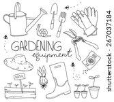 Vector Illustration. Garden...