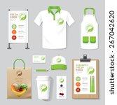 vector health  beauty shop set... | Shutterstock .eps vector #267042620