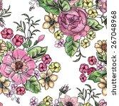 Flower Bouquet. Floral...