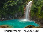 Rio Celeste Waterfall...