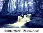 Infrared Nature Landscape With...