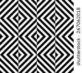 seamless square pattern. black... | Shutterstock .eps vector #267062018