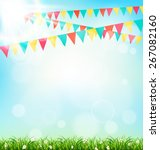 celebration background with... | Shutterstock .eps vector #267082160