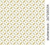 seamless intersecting geometric ... | Shutterstock .eps vector #267100154