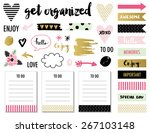 signs and symbols for organized ... | Shutterstock .eps vector #267103148