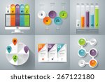 infographic design template can ... | Shutterstock .eps vector #267122180