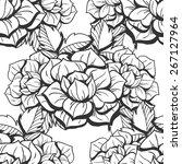 abstract elegance seamless...   Shutterstock . vector #267127964