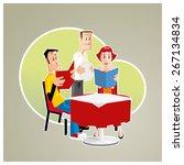 seeing the menu | Shutterstock .eps vector #267134834