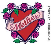 """illustration with """"mother"""" text ... 