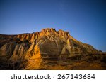 The Sandstone Cliff Of The...