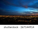 Phoenix City Lights At Dusk ...