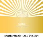 Sun Sunburst Pattern. Vector...