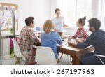 let's discuss our strategy for... | Shutterstock . vector #267197963