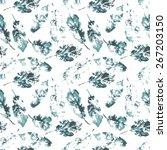 fingerprint pattern from the of ... | Shutterstock .eps vector #267203150
