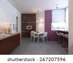 kitchen garde. 3d render | Shutterstock . vector #267207596