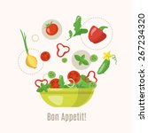 cooking infographics. let's... | Shutterstock .eps vector #267234320