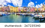 colors of mediterranean series  ... | Shutterstock . vector #267235340