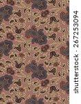 paisley pattern   Shutterstock .eps vector #267253094