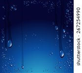 Vector Of Water Drops Background